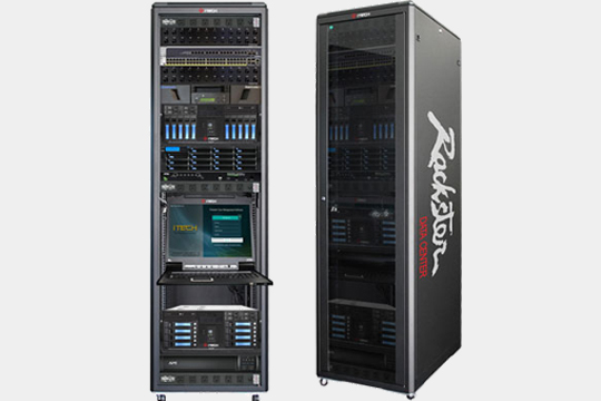 Rackster-DC, Full Tower Rack High Performance and Storage Solution